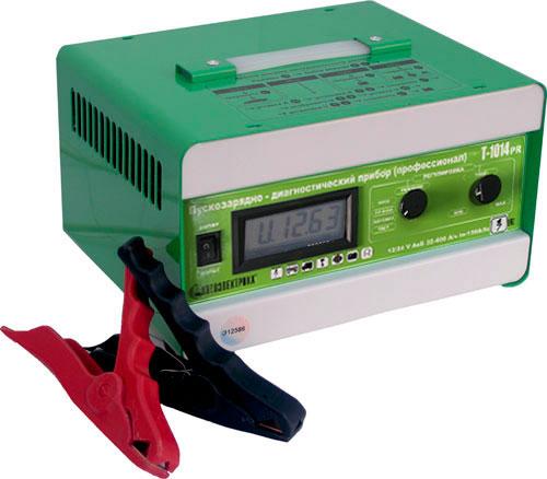 зарядка аккумуляторных батарей 12, 24 V для АКБ 32-400А/ч, запуск двигателя автомобиля, диагностика работоспособности...