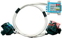 Кабель для программирования ЭБУ с разъемами Molex