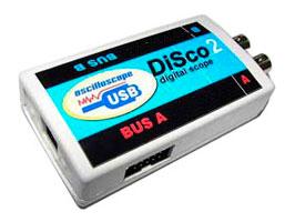 USB осциллограф DiSco 2 (сокращённо от Digital Scope) является новым аппаратным продолжением широко известного...